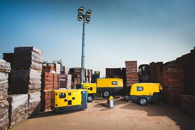 Portable Air Compressors, Generators, Light Towers & Construction Equipment